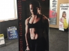 fitness banner stand