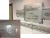 Plexi Glass office reception sign