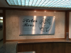 Reception Office Sign