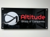 acrylic custom office signage