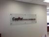 capital oilfield office wall sign