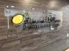 custom office reception sign plexi glass