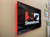 plexi glass backlit sign