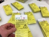 plastic outdoor safety tags