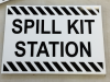 spill kit station signs