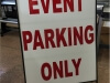 event parking A Frame sign.jpg