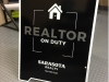 realtor sandwich board