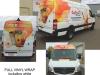 Sprinter Van full vinyl wrap graphics