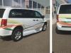healthcare van graphics wrap