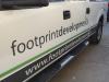 pick up truck vinyl lettering