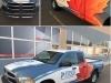 plumber truck buisness digital wrap