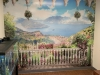 long term care centre wall mural