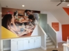 show home wall mural