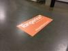 adhesive floor graphics